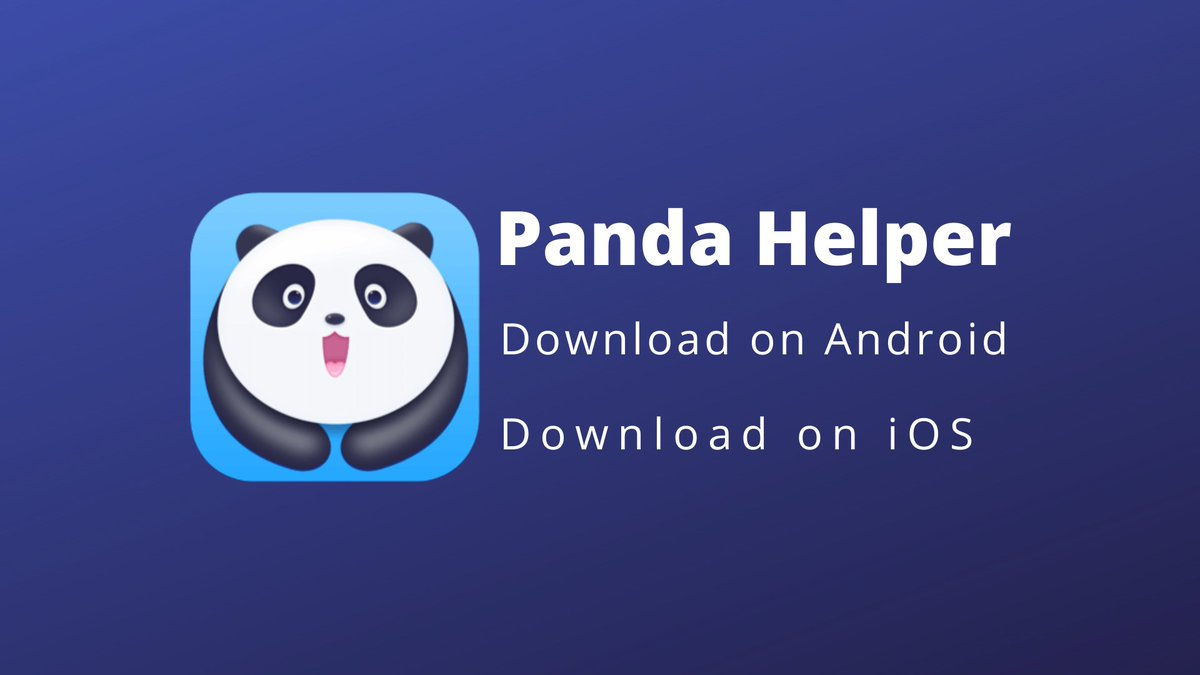 Four Issues A Child Is Aware Of About Panda Helper VIP That You Don't